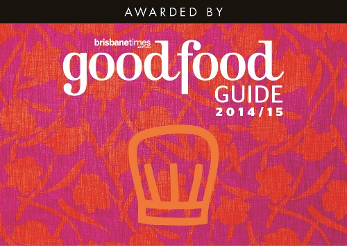 Chef Hat Good Food Guide Awards 2014